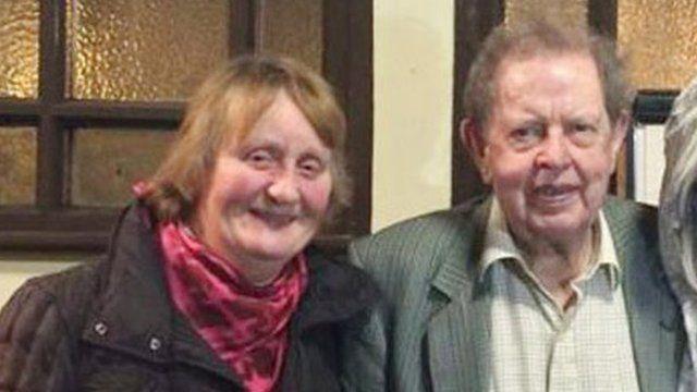 Kathleen and Jimmy Cuddihy