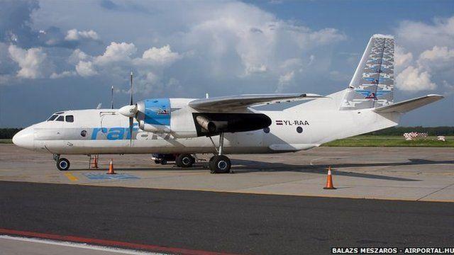 Antonov An-26B aircraft