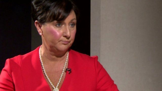 Valerie Watts, the chief executive of the Health and Social Care Board, says the cuts are regrettable but unavoidable