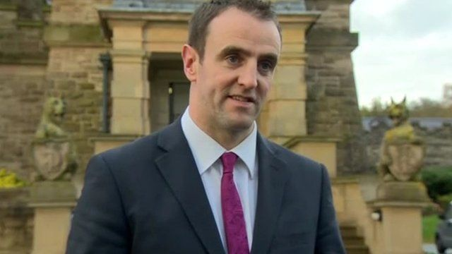 Mr Durkan said he refused to support the draft budget because of the cuts to his department