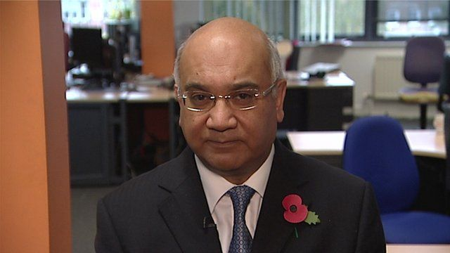 MP Keith Vaz, chair of the Home Affairs Committee