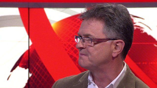 Head of NAPAC Peter Saunders