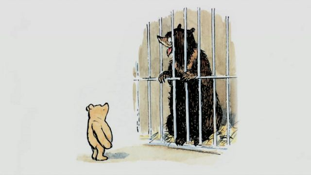 Illustration of Winnie the Pooh