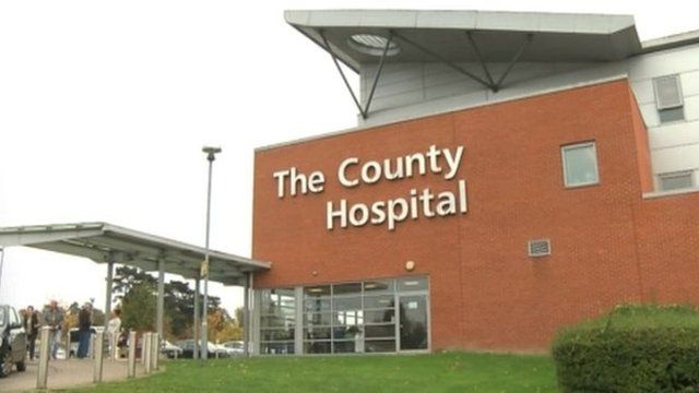Thousands of patients from Wales travel to Hereford for treatment as it is their nearest hospital