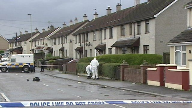 Residents living in Creggan Heights have been unable to return home as a security operation in Creggan Heights continues into a second day