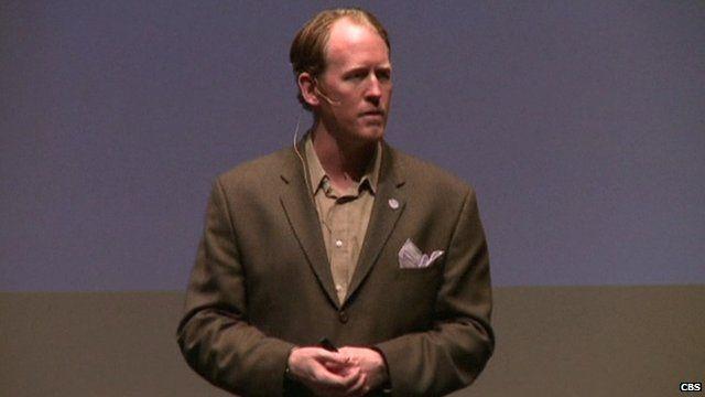 Ex-Navy Seal Robert O'Neill giving a motivational talk in Tennessee