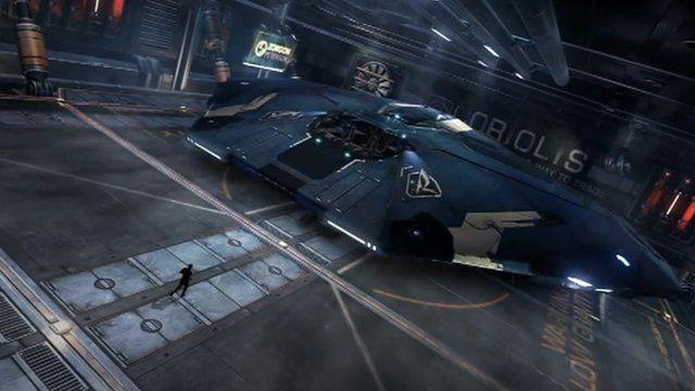 Screen shot from Elite: Dangerous