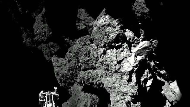 First image from Philae