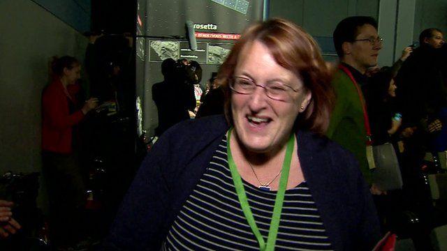 Scientist Monica Grady