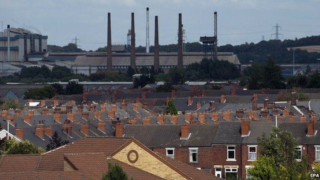 Rotherham in South Yorkshire