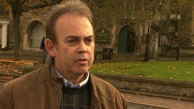 Clive Gregory spoke to the BBC's Norman Smith
