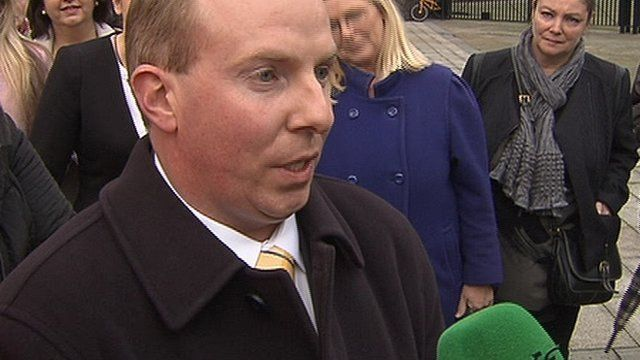"""Outside court, Bernadette Smyth's solicitor described the verdict as """"a disappointment for Christians worldwide""""."""