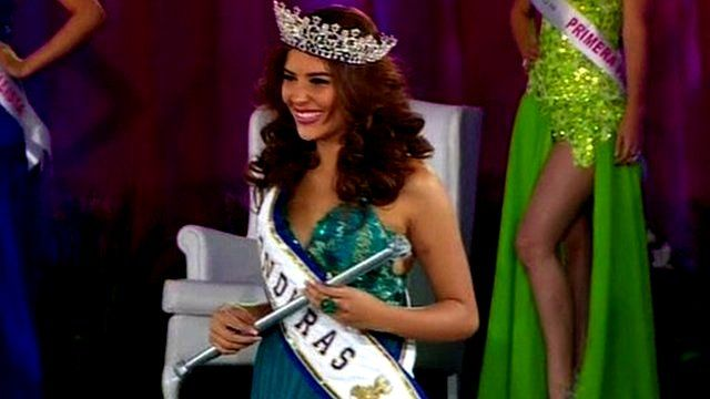 Honduras beauty queen Maria Jose Alvarado