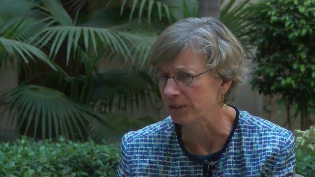 OECD chief economist, Catherine Mann