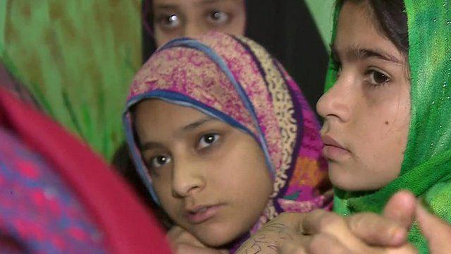 Street children in Pakistan