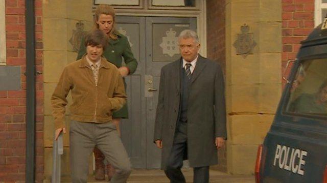 Inspector George Gently and his sidekicks