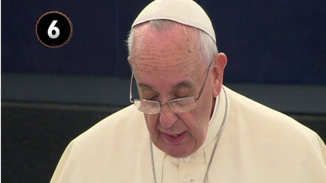 Pope in European Parliament