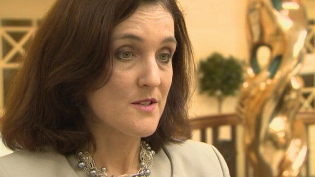 Secretary of State Theresa Villiers said she was encouraged by the latest negotiations
