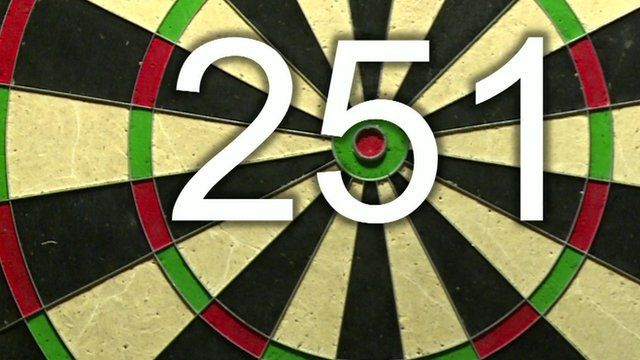 Dartboard with graphic