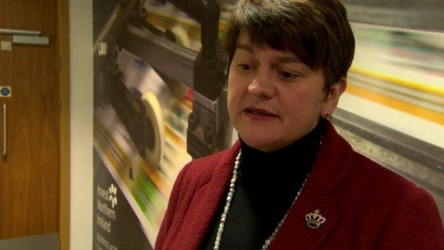 """Enterprise Minister Arlene Foster called the decision """"disappointing"""""""