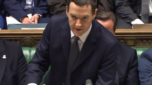 George Osborne made the announcement as he delivered his Autumn Statement to the House of Commons