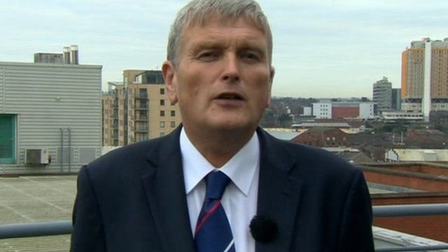 Speaking to BBC Newsline's Kerry Thompson, Mr Wells said the minimum price would apply to all retailers