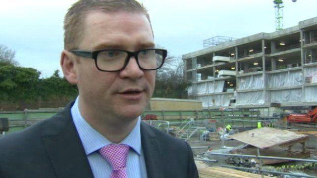 Northern Ireland Finance Minister Simon Hamilton