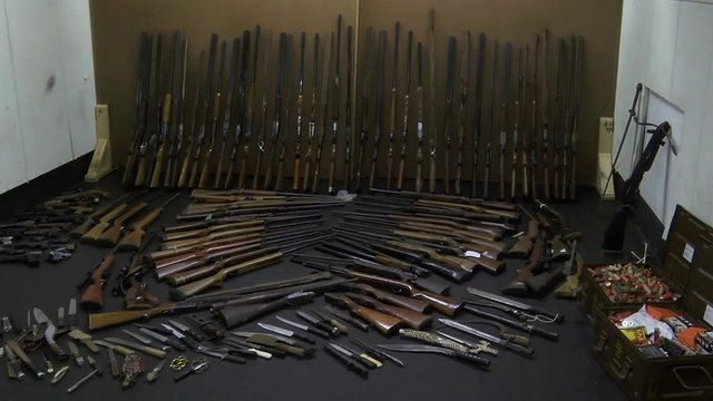 Isle of Man weapons amnesty nets 110 firearms