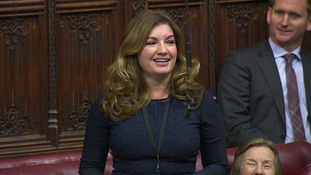 Karren Brady in the House of Lords