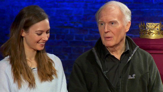 Lydia Wilson and Tim Piggott-Smith