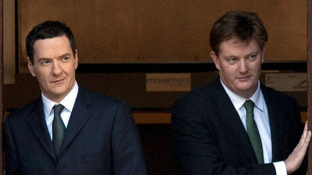 Danny Alexander and George Osborne