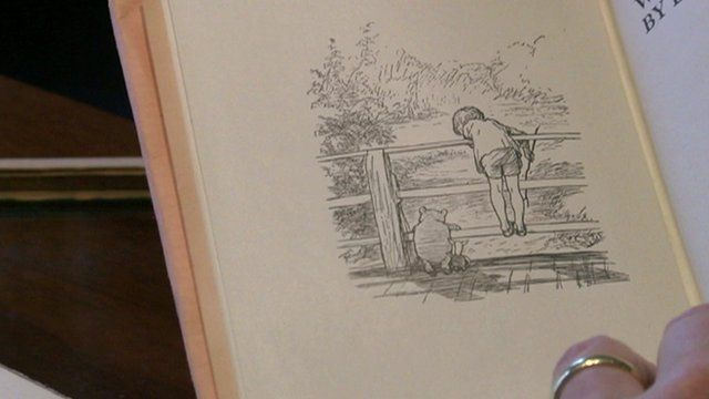 One of the most famous images of Winnie the Pooh has sold for £314,500 at auction in London