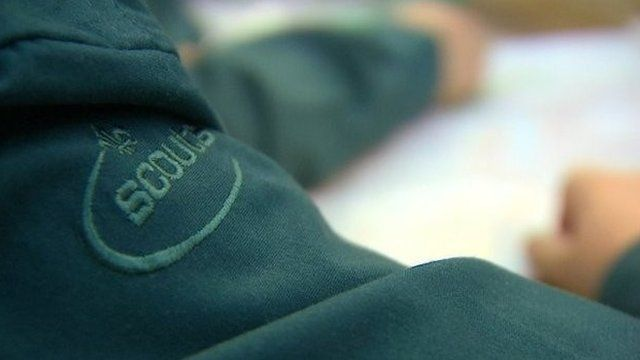 The Scout clothing logo