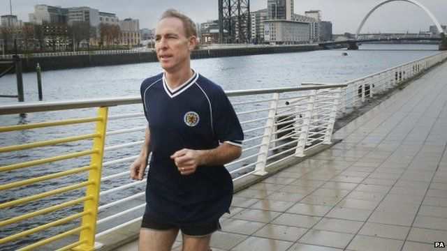 Jim Murphy running