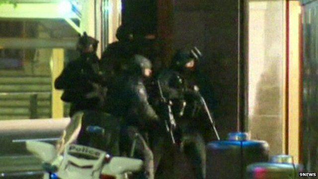 Police storm Australia siege cafe