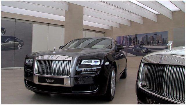 Rolls Royce Ghost model