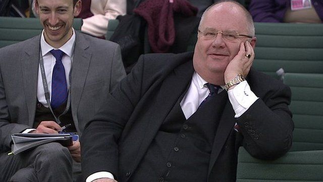 Communities Secretary Eric Pickles's comments drew laughter around the room