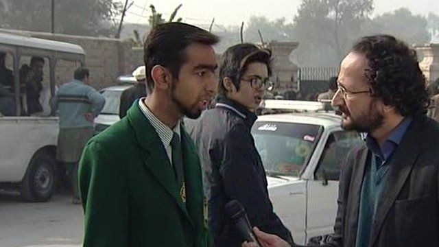 Aakif Azeem survived the Pakistan school shooting