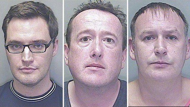 Ben Pickering, Mark Cainen and Paul John