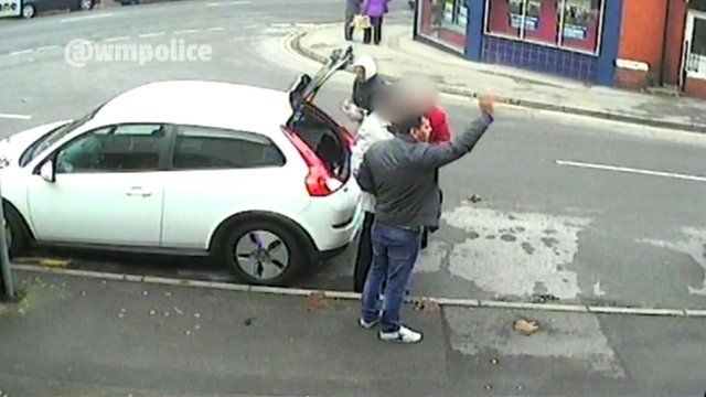 Thieves and a car