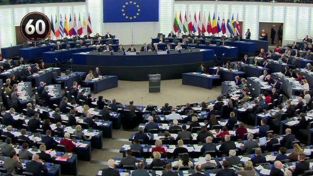 Budget vote in European Parliament
