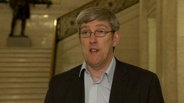 John O'Dowd said those behind the attack had 'no community support'
