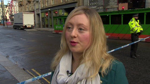 Catriona Stewart, who helped the injured in George Square