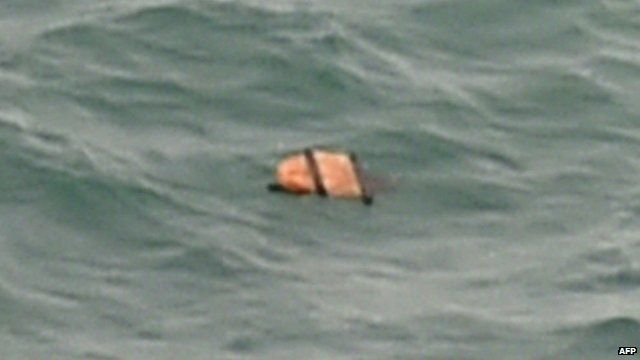 Debris thought to be from missing AirAsia flight QZ8501