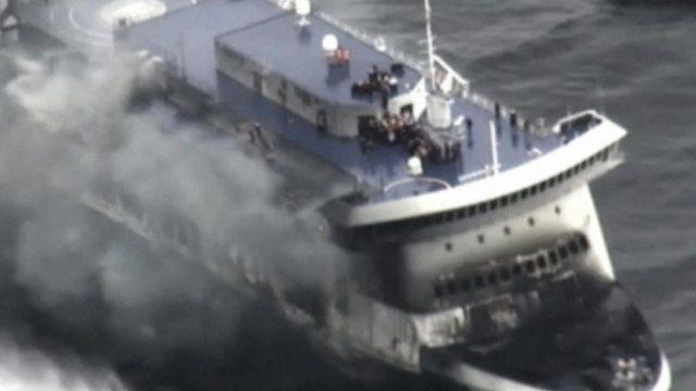 Norman Atlantic ferry