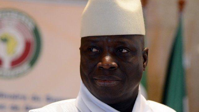 Yahya Jammeh in March 2014