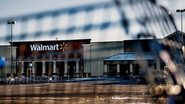 The Walmart store where the shooting took place in Hayden, Idaho, 30 December