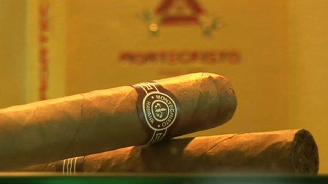 Two Montecristo cigars