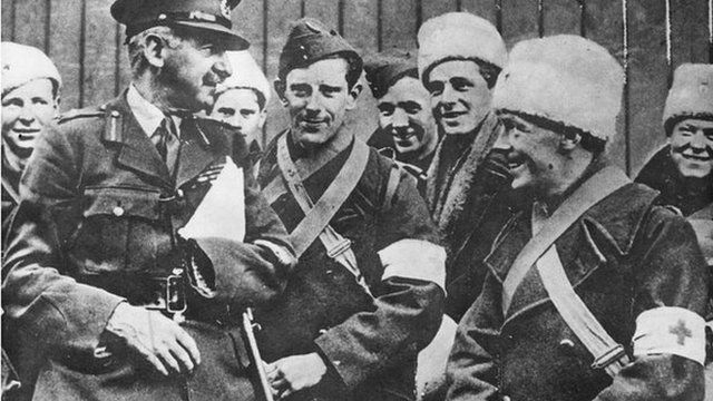 Sir Adrian Carton de Wiart in 1940