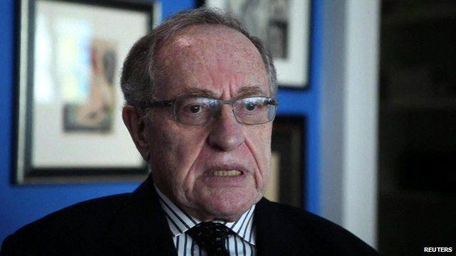 US lawyer Alan Dershowitz